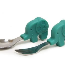 Marcus baby spoon and fork set