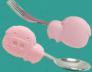 PalmGrip Spoon & Fork