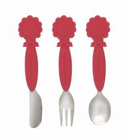 Marcus Marcus MARCUS RED LION Utensil Set kid safe utensils.