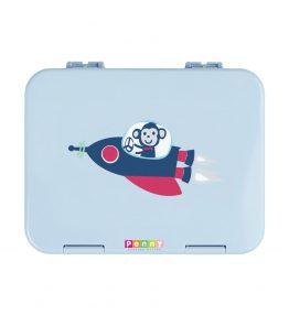 Penny Scallan Space Monkey Large Bento Box beautiful colour and dishwasher safe.
