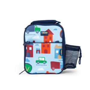 Penny Scallan Big City Bento Cooler Bag with Packet very convenient to carry handle.