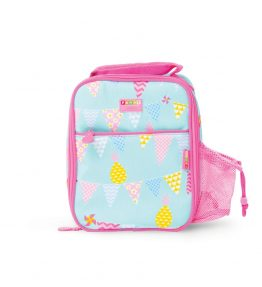 Penny Scallan Pineapple Bunting Bento Cooler Bag scratch proof and easy to clean coating.