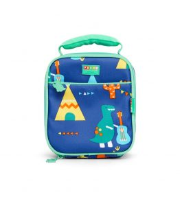Penny Scallan Dino Rock Lunchbox School Bag BPA FREE and 100% cotton.