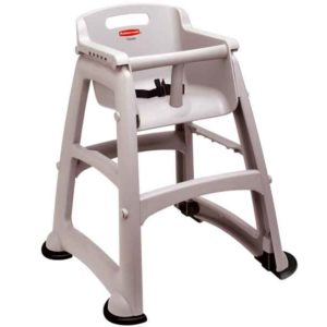 High Chair a rubbermaid sturdy chair youth seat with attractive, contemporary styling.