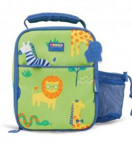 Penny Scallan Wild Thing Bento Cooler Bag distinctive easy-run zips with metal icon zip puller.