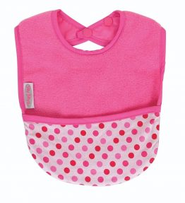 Sillyz Billyz Fleece Pocket Bib