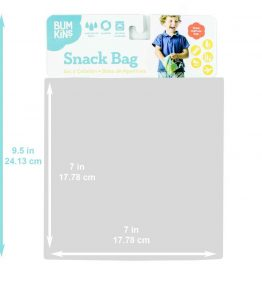 Bumkins Reusable Snack Bag - Large