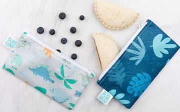 Bumkins Reusable Snack Bag - Small - 2 Packs