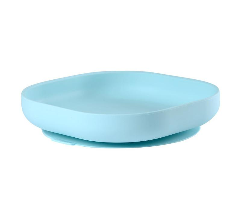 Beaba Silicone Suction Plate blue