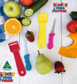 Kiddies Food Kutter & Peeler 2 x set