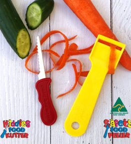 Kiddies Food Kutter & Peeler Set