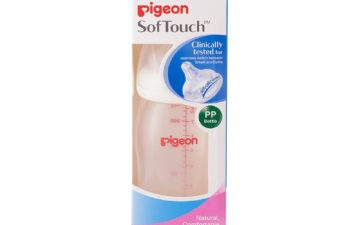 Pigeon Wide Neck SofTouch™ Bottle 240ml (PP)