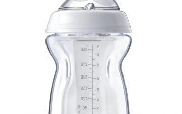 Chicco Nursing Glass Bottle: NaturalFeeling – 250ml 0m+ Teat