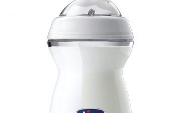 Chicco Nursing Bottle: NaturalFeeling - 250ml 2m+ Teat