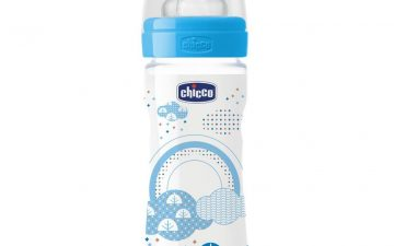 Chicco Nursing Bottle: Well-Being Silicone – 2m+ Teat 250ml