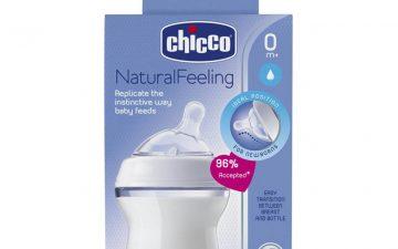 Chicco Nursing Bottle: NaturalFeeling - 150ml 0m+ Teat