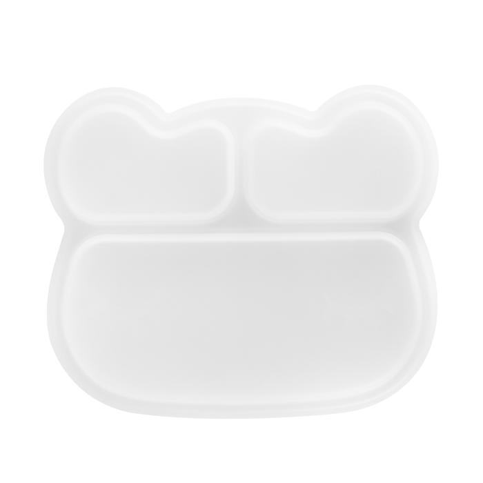 Bear Stickie Plate Lid